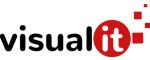Logotipo Visualit agencia de marketing digital en Asturias